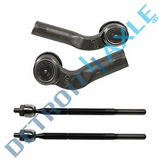 Brand New 4pc Front Suspension Inner and Outer Tie Rod End Set for Mazda 3 & 5