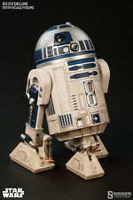 R2-D2 Deluxe Hot Toys/Sideshow 1/6 Figura (Star Wars) UK enviado En Stock