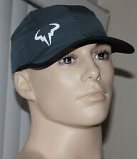 Nike TENNIS Unisex Rafa Bull Featherlight DriFit Gray/Black/White Cap Hat Sz OS*