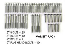 49 Stainless Steel Bolts for rock climbing holds