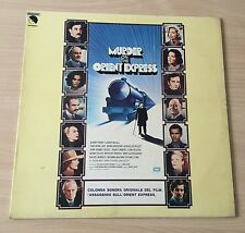 "LP VINYL 12"" OST MURDER ON THE ORIENT EXPRESS AGATHA CHRISTIE ASSASSINIO ITALIAN"