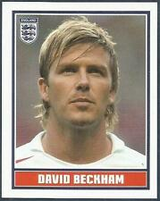 MERLIN-ENGLAND 2006 WORLD CUP- #165-ENGLAND & REAL MADRID-MAN UTD-DAVID BECKHAM