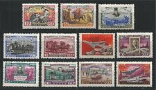 SOWJETUNION USSR 1958 MiNr: 2113 - 2123 ** MNH 100 YEARS RUSSIAN STAMP LENIN