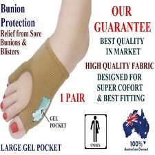 PAIN RELIEF Gel Bunion Protector Toe Separator Straightener Alignment  Foot Pad