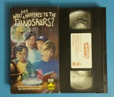 What ever Happened to the Dinosaurs? VHS 1994 Golden Book Video Kids Educational