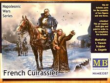 Masterbox 1:32 French Cuirassier Figures And Horse Model Kit