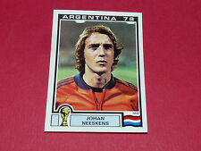 123 NEESKENS HOLLAND ARGENTINA 78 FOOTBALL PANINI WORLD CUP STORY 1990 SONRIC'S
