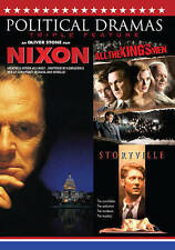 Political Dramas Triple Feature: Nixon/All the King's Men/Storyville (DVD, 2016)