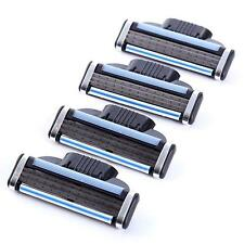 4 Blades For Gillettee MACH 3 Razor Shaving Shaver Trimmer Refills Cartridge NEW