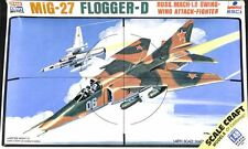 ESCI 1:48 MiG-27 Flogger D Russian Swing Wing Attack Fighter Kit #SC4020U