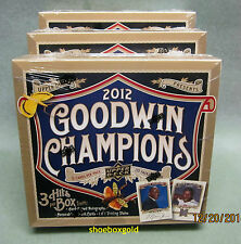 2012 UD GOODWIN CHAMPs MLB Baseball, Factory Sealed Hobby Box