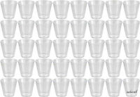 NEW CLEAR PARTY PLASTIC JELLY DISPOSABLE SHOT GLASSES 40-120-200-400-1000