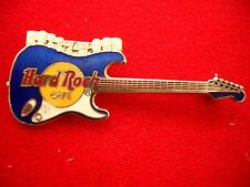 HRC Hard Rock Cafe Hollywood Blue Stratocaster Guitar Silver Pre Opening LE