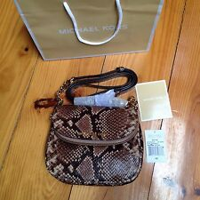 MICHAEL KORS BEDFORD Snake Print Effect Leather Flap Cross-Body Bag *BNWT*