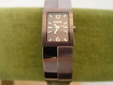 Fossil Copper Tone Bracelet Ladies Watch