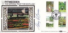 1983 Gardens - Benham BLS Off - Pitmedden H/S - Signed by GEORGE BARRON