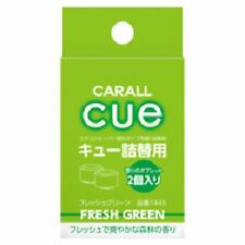 Carall Cue Clip On Air Freshener Refill 2pc Pack (Fresh Green) 1652