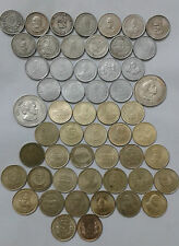 5 rs 54 different commemorative coin lot extreme rare