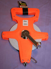 OPEN TAPE MEASURE 100' feet 30 m winding SURVEYORS fiberglass