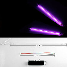 "2 X 12"" Car Auto Purple Underbody Neon Kit Lights CCFL Cold Cathode Tube"