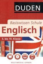 unknown - Duden - Basiswissen Schule, Englisch, mit CD-ROM