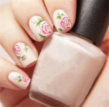 1 Sheet fleur d'ongles sticker décal à eau Nail Art Manucure G103