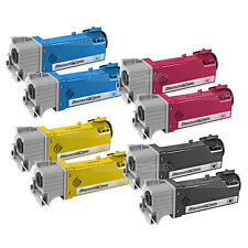 8 BLACK & COLOR 106R01597 Toner Cartridge for Xerox Phaser 6500 Workcentre 6505