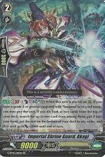 CARDFIGHT VANGUARD CARD: IMPERIAL SHRINE GUARD, AKAGI G-BT05/011EN RR RARE