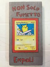 POKEMON SURFING PIKACHU LIV.13 114/111 - NEAR MINT  - ITALIANO