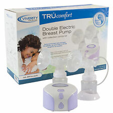 Double Electric Closed-System Breast Pump TRUcomfort Nursing Aid Adjustable