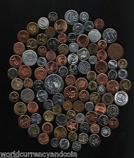 108 DIFFERENT COUNTRIES WORLD COINS RARE CURRENCY MONEY COLLECTION ARAB AFRICA