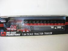 DCP Peterbilt w Covered Wagon 1/64th Scale New in Box # 33404
