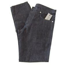 L-1532223 New Dior Gray Button Front Jeans Pants Size US-T31