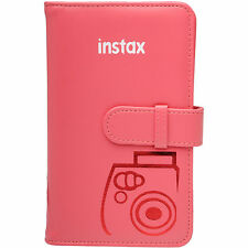 Fujifilm Instax Mini Wallet 108 Photo Album RASPBERRY for 7S 8 25 50S 90 Cameras