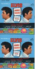 CD Elvis PRESLEY Double Trouble (1967) - Mini LP REPLICA - 12-track CARD SLEEVE