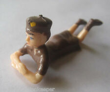 Vintage Girl Scout 1950's BROWNIE CAKE TOPPER WILTON? Figurine Hong Kong NEW