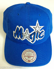 NBA Orlando Magic Mitchell and Ness Leather Adjustable Strap Cap Hat M&N NEW!