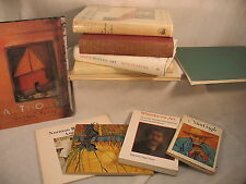 lot of 12 old art books Van Gogh Modern Whistler Bronze paintings History Percy