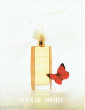 PUBLICITE ADVERTISING 016  1996  Hanae Mori  parfums