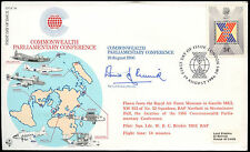 GB 1986 RAF RFDC48 Parliamentary Conference Flown Signed FDC Cover #C24987