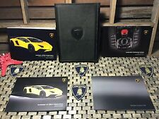 2016 LAMBORGHINI AVENTADOR SV SUPERVELOCE OWNERS MANUAL +MEDIA BK LP750-4 LP 750