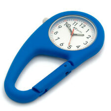 Ravel Clip-On Carabiner Watch Hiking Camping Handbag Charm Blue R1105.06