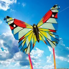 NEW BROOKITE CHILDRENS KITE MINI / MICRO KITE BUTTERFLY SINGLE LINE - 2 DESIGNS