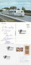 SWISS CRUISE SHIP MPS DIANA A SHIPS CACHED COVER & A SIGNED COLOUR POSTCARD