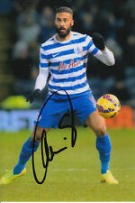 QPR HAND SIGNED ARMAND TRAORE 6X4 PHOTO 3.