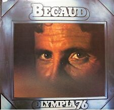 ++GILBERT BECAUD olympia 1976 LP LIVE seul sur son etoile/l'absent VG++