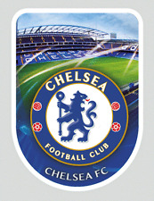 Small 3D Universal Sticker Chelsea Football Club Official Blues for Phone iPod