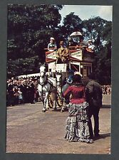 C1970's View of a Garden Seat Type Horse Drawn Bus.