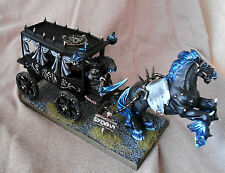 Warhammer Fantasy Battle Vampire Counts Black Coach CONVERTED & PROPAINTED
