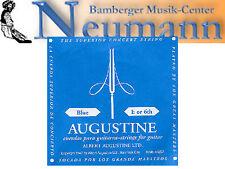 Azul E6 Konzert Guitarra Acordes Augustine alto tensión Cuerdas de nylon